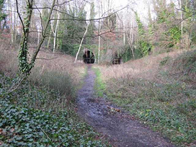 Highgate East Tunnels, eastern portals