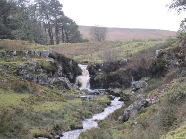 Waterfall on Middle Burn, Stonehaugh