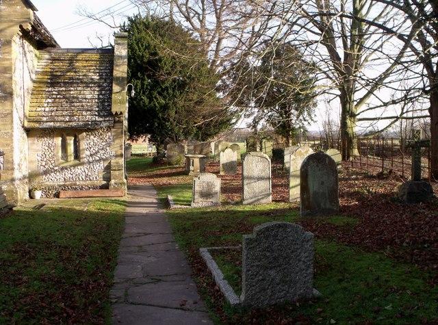 Churchyard, Albourne, West Sussex