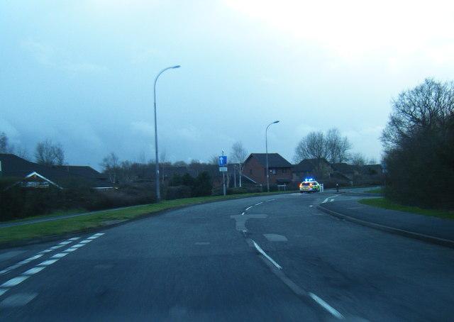 Callands Road/North Park Brook Road junction
