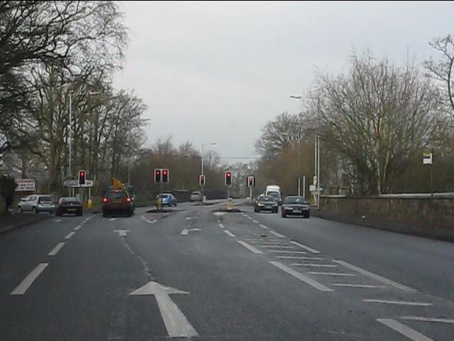 A41 - Wrottesley Park traffic lights
