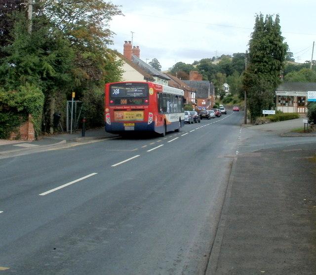 Stagecoach bus in Pontrilas
