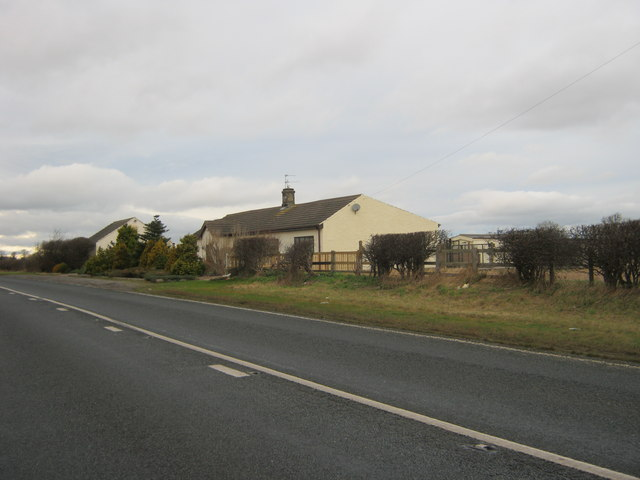 Swallow Cottage next to the A167