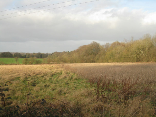 Fallow field by Itchen Row