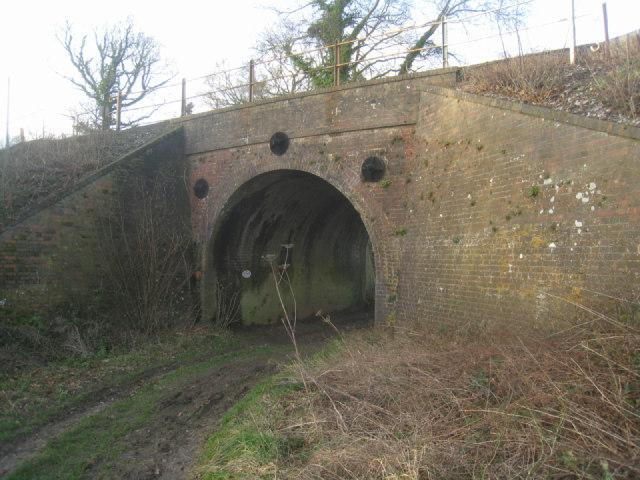 Serious bridge for a farm track
