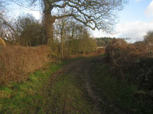 Wayfarer's Walk near  Itchen Row