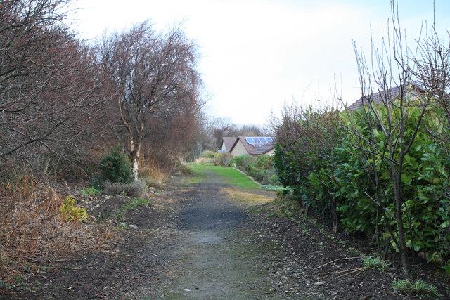 Footpath in Portsoy