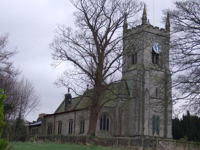 Parish church of St Paul & St Margaret, Nidd