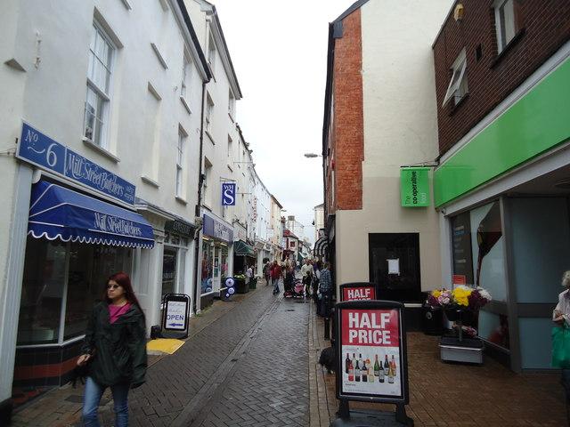 Mill Street, Bideford