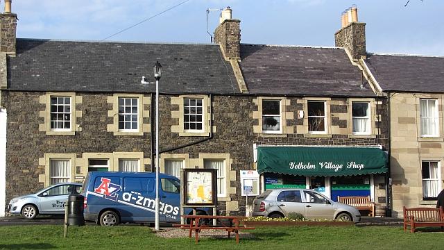 Village shop, Town Yetholm
