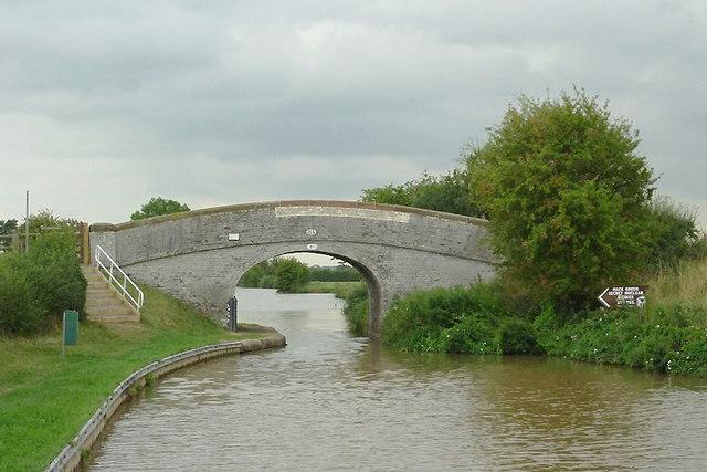 Burrows Bridge, No 85 at Hack Green , Cheshire
