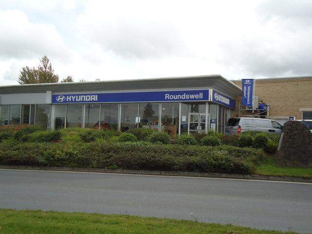 Roundswell Hyundai car dealership, Barnstaple