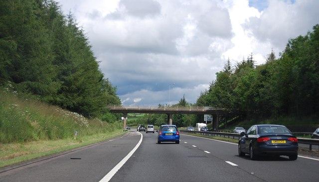 B7078 Bridge, M74
