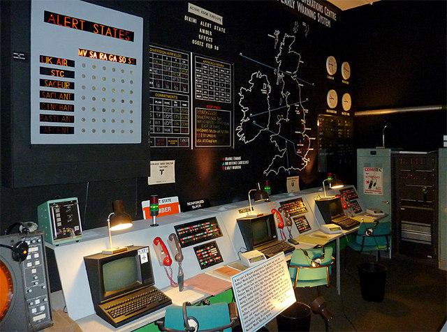 Display At Hack Green Secret Nuclear 169 Roger Kidd