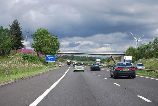 Lochead Access Bridge, M74