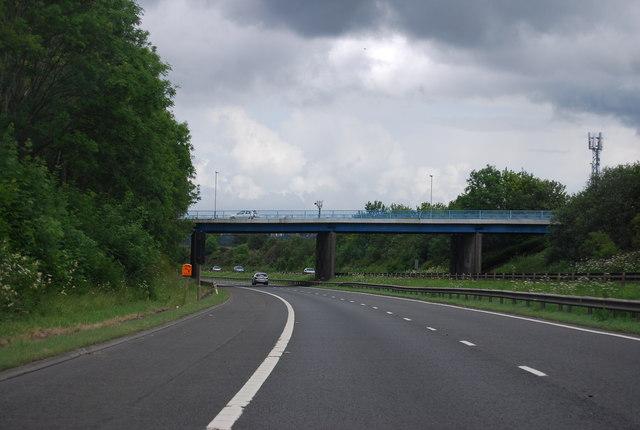 Burnhead Road Bridge, M74