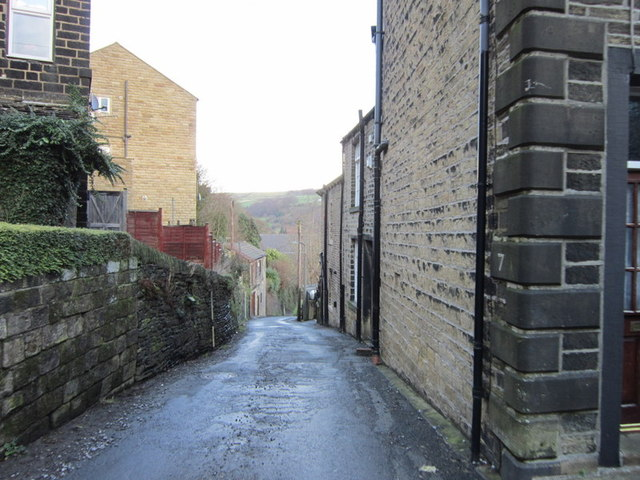 Back Lane, Ripponden