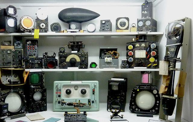 Equipment display at Hack Green Secret Nuclear Bunker