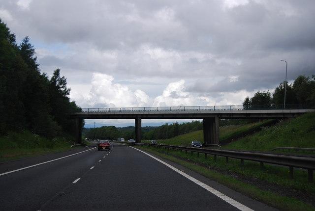 A72 Bridge, Junction 7, M74