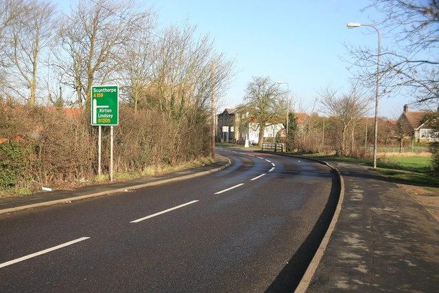 Blyton road junction