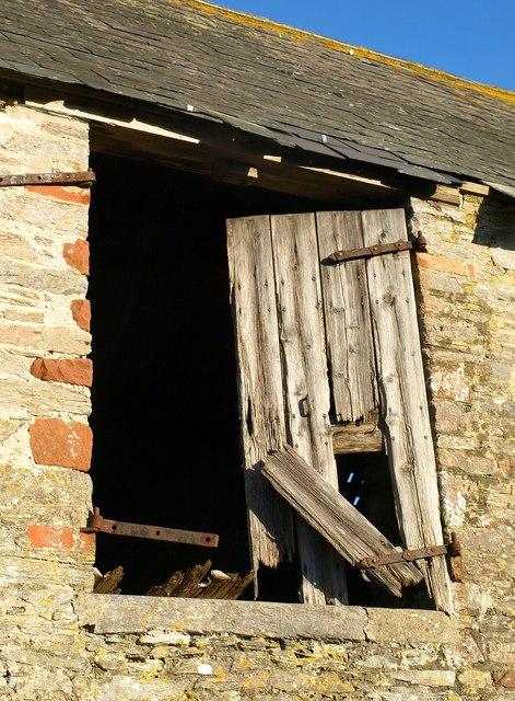 Loading door, Churston Court Farm