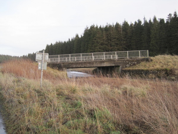 Road Bridge over Warks Burn
