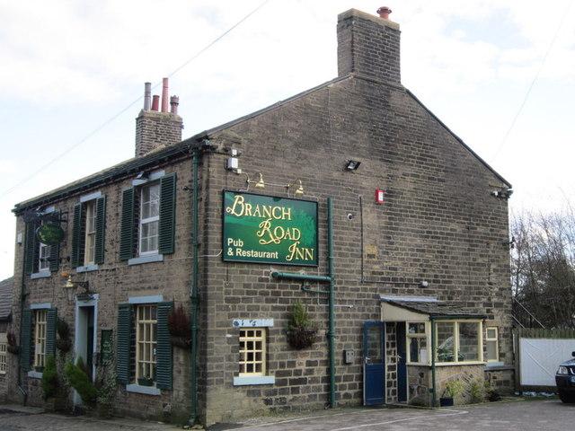 The Branch Road Inn on Saddleworth Road