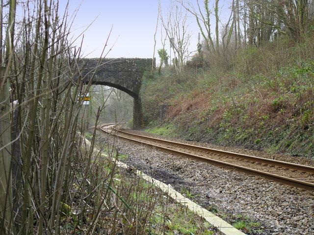 Bridge Over a Single Track Railway