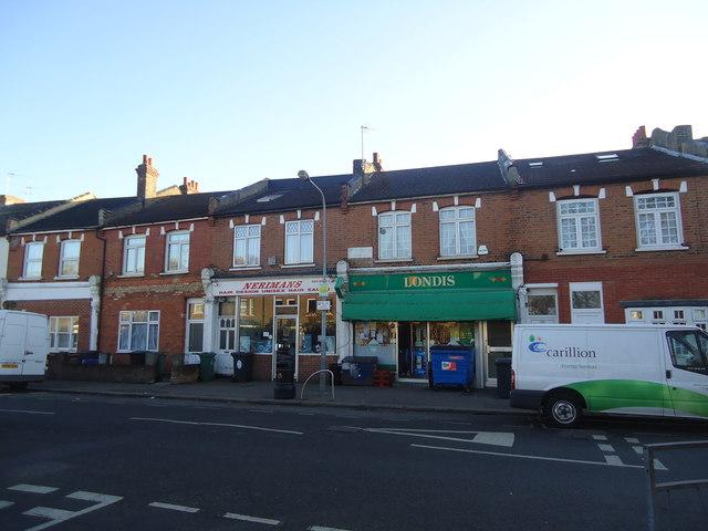 Shops, Coppermill Lane, Walthamstow
