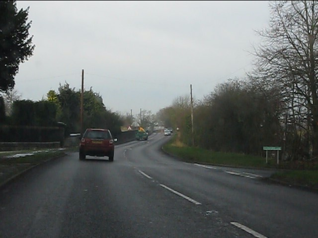 A41 at Stafford Lane junction