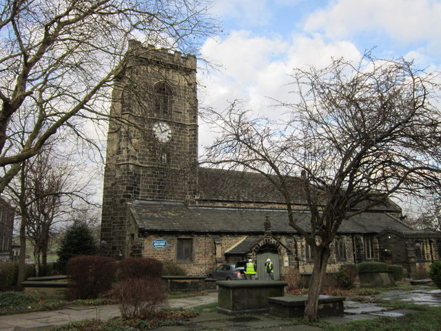 The Parish Church of St Mary the Virgin, Elland