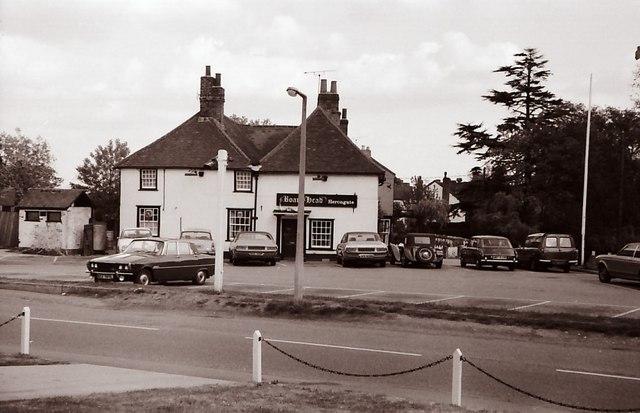 Boars Head Public House in 1972