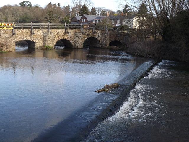 River Wey at Tilford