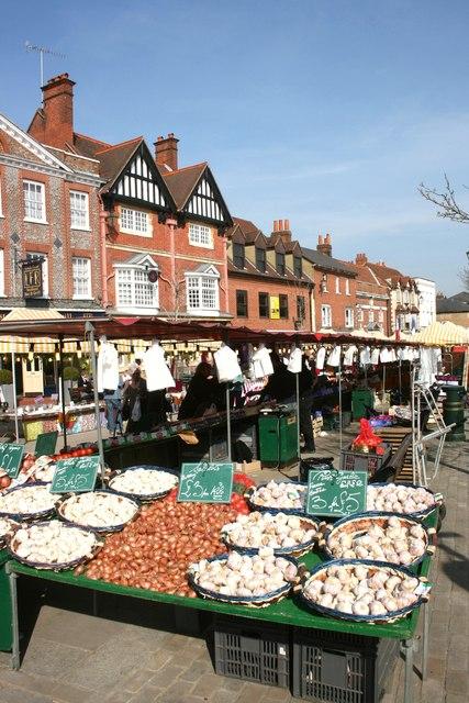 Garlic in Henley Market