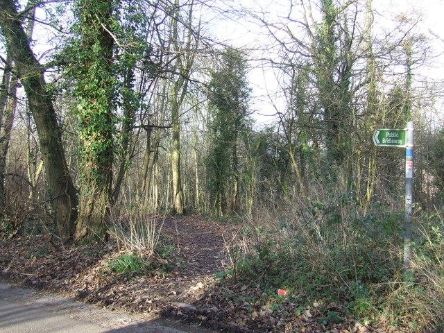 Public bridleway near Shoreham