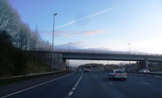 Cottage Lane Crosses the M6