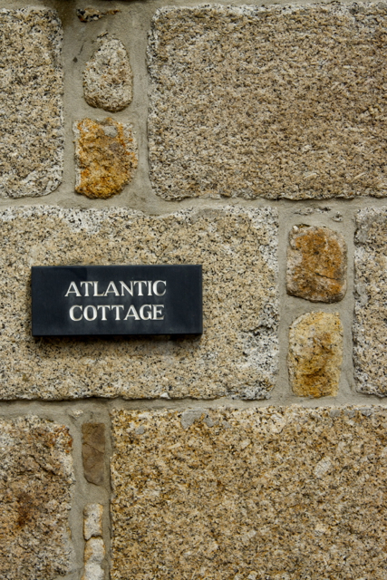 Granite cottage wall The Digey St Ives