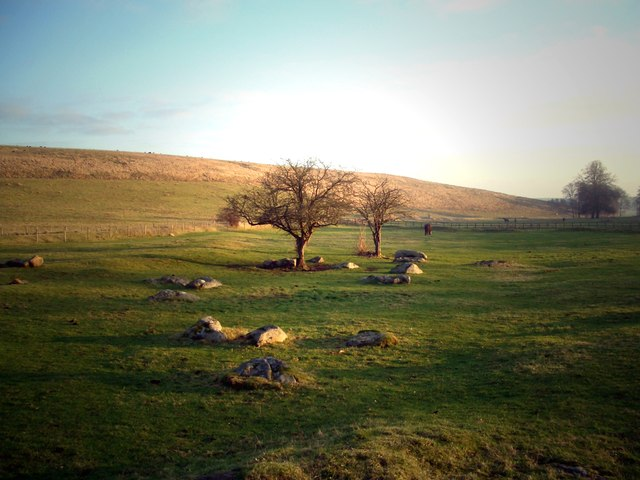Sarsen Stones in the Afternoon
