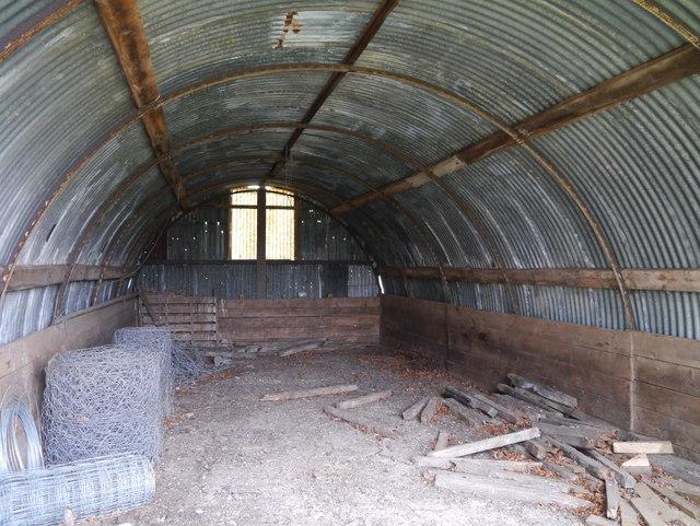 RAF Charterhall - Dispersed Site No 8 - Airmens' Quarters (Internal View)