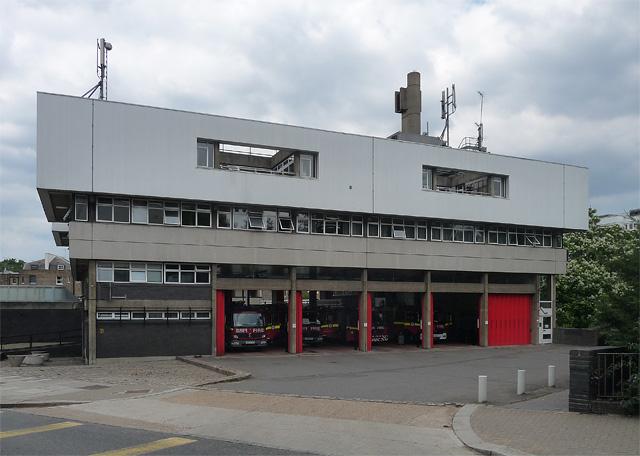 Paddington Fire Station, Harrow Road
