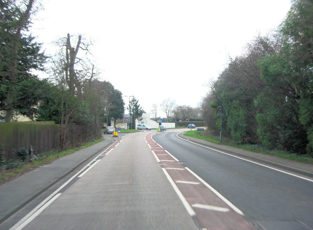A337 junction with B3058