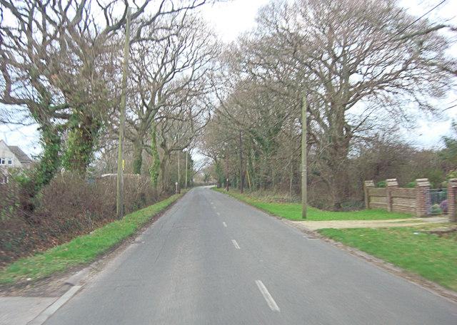 Vaggs Lane heads north