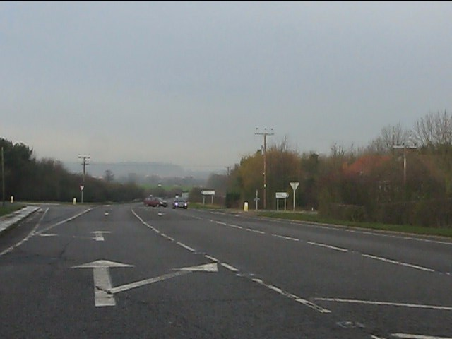 Crossroads on the A41