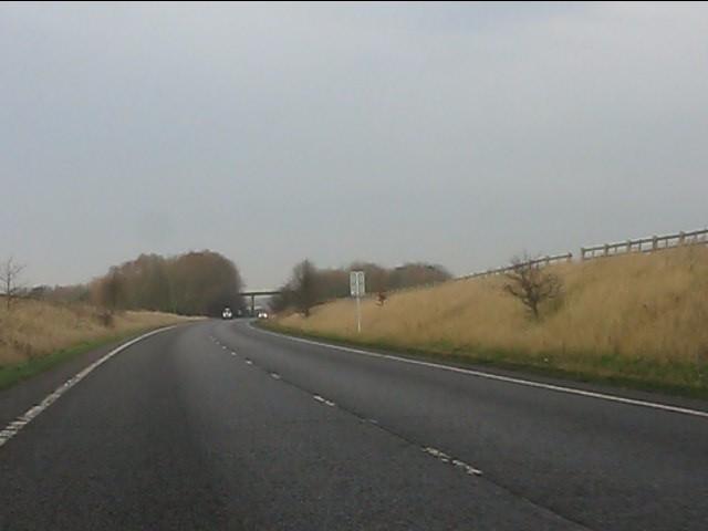 A41 near Chetwynd Aston