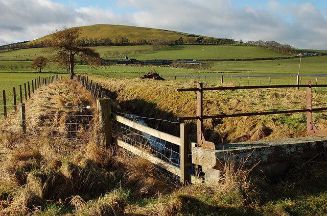 Field drain below Parkgatestone