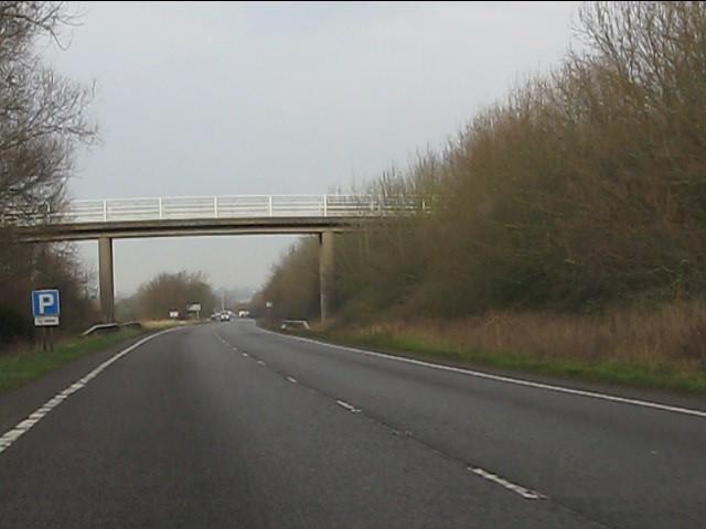 Farm accommodation bridge, A41 Chetwynd Aston bypass