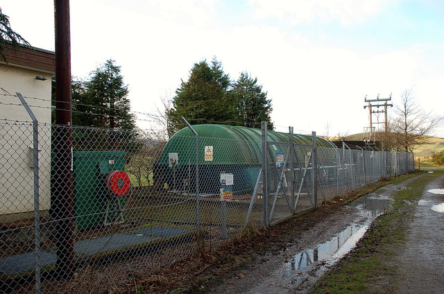Water treatment plant, Broughton