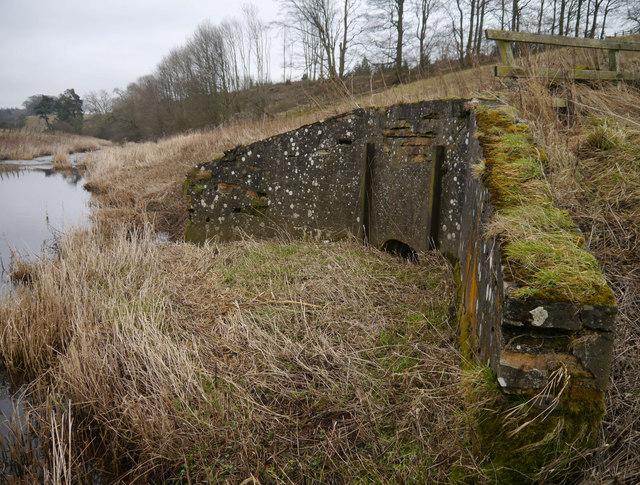 Disused Pumping Station - Intake At The Blackadder Water