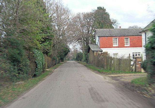 Middle Road in Tiptoe