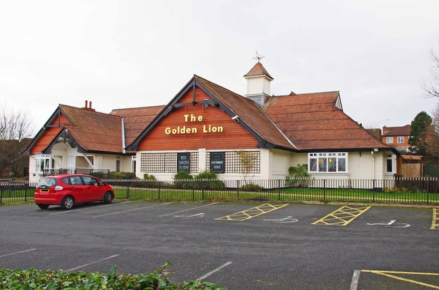 The Golden Lion (1), Austin Road, Charford, Bromsgrove